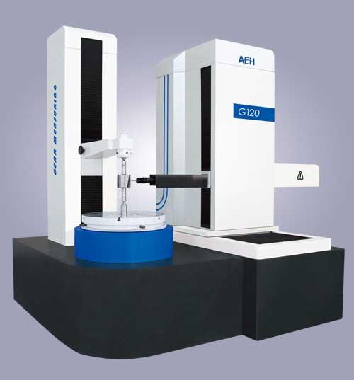 Gear center measuring machine